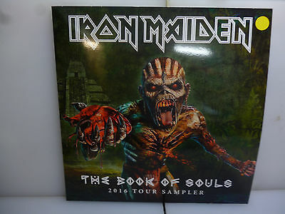 Iron Maiden-The Book Of Souls. 2016 Tour Sampler.-Yellow Vinyl Lp-New.sealed