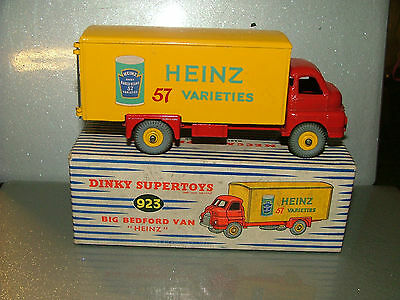 Dinky no 923 - Big Bedford Van Heinz beans mint with near mint box original