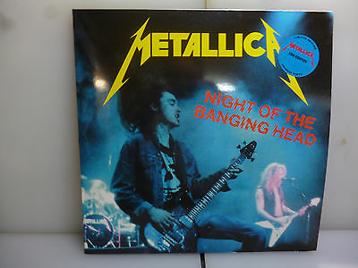 Metallica-Night Of The Banging Head. Usa 1983.-2Lp Blue Vinyl+Poster-New.sealed