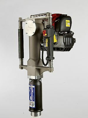"REDI Driver Boss w 3 1/8"" is the biggest & strongest gas powered post driver!"
