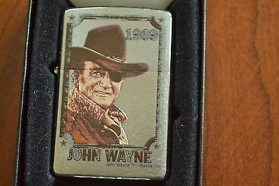 ZIPPO Lighter, 245075 - John Wayne 1969 - The Duke, 2009, Sealed, M858