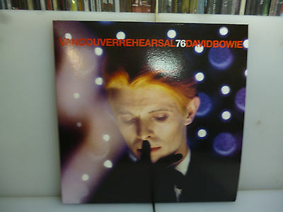 David Bowie-Vancouver Rehearsal 76.canada 1976-2Lp Black Vinyl+Poster-New.sealed