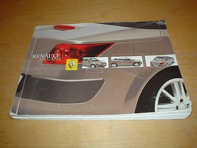 RENAULT MEGANE II CC COUPE CONVERTIBLE CABRIOLET 2 Owners Manual Handbook Book