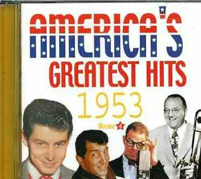 Various Artists - America's Greatest Hits 1953 / Various [New CD]
