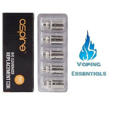 Aspire Bvc Coils (Pack Of 5) - (1.6 Ohm / 1.8 Ohm / 2.1 Ohm)