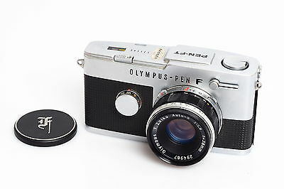 Olympus Pen-FT Chrome w. 1.8/38mm