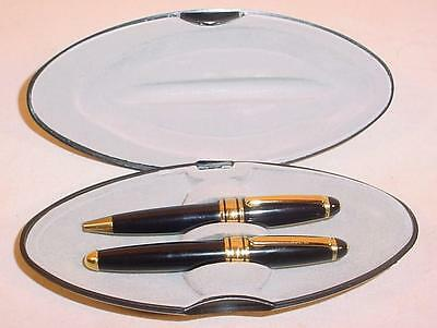 Iridium Nib Fountain Pen And Ball Point Pen Set Made In Germany With Case