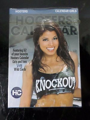 Brand New Sealed 2010 Hooters Calendar Playing Cards 1St Edition Series 7