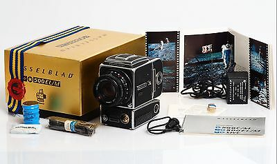"""Hasselblad 500 EL/M """"10 Years on the Moon"""" Limited Edition 0417"""""""
