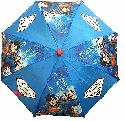 Superman Color Change All Over Print Retractable Umbrella-Change color when wet!