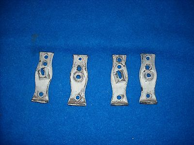 Vintage cast iron pull down shade hardware 2 sets