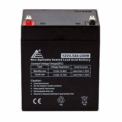 12V 4.5Ah Replacement Battery for djw12-4.5, LiftMaster 485LM, Chamberlain 4228
