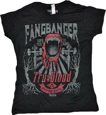 True Blood - Fangbanger - Ladies T-Shirt - Double Extra Large Free Shipping!