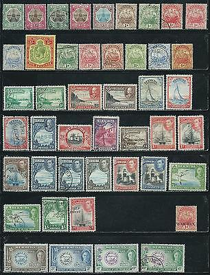 Bermuda - 45 old stamps mixed - Years 1902 to 1949....many High Cat. Values...
