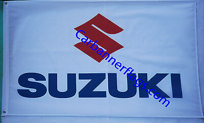 Suzuki Flag Suzuki car banner flags 3X5 FT--Free Shipping