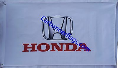 Honda Flag Honda car banner flags 3X5 Ft--Free shipping