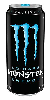 NEW Monster Premium Energy Drink Low Carb 16 Ounce Pack of 24 FREE SHIPPING