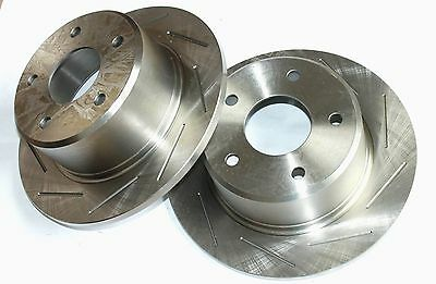 Slotted REAR Disc Rotor for HOLDEN COMMODORE VR VS (WITH IRS) 93-97 DR36 *1 pair