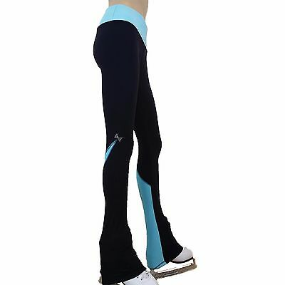 Ice Figure Skating Dress Practice Pants Trousers VCSP03 pants pink red purple