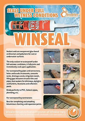 Winseal-waterproof product tube that can be used even in wet areas