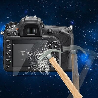 Tempered Glass Camera LCD Screen Protector Cover for Nikon D7200 New ZV