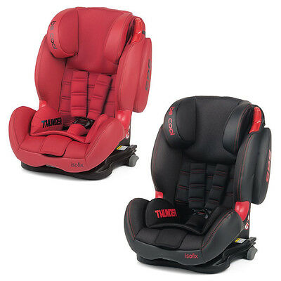 Be Cool Thunder Isofix Kindersitz mit Top Tether Gr. 1/2/3 Baby Infant Car Seat