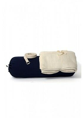 Iyengar Yoga Set (Bolster, Cushion & Belt) - INDIA SHIPPING