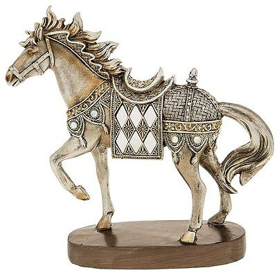 Gorgeous Horse Standing Ornament Sculpture Figurine - New
