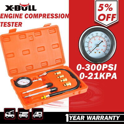 X-BULL Petrol Engine Compression Tester Kit Set For Automotives and Motorcycles