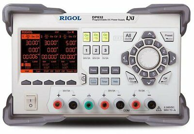 """RIGOL DP832 3-channel Programmable DC Power Supply 30 V 3 A 195 W 3.5"""" TFT LCD"""