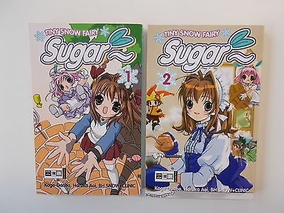 2x Manga - Tiny Snow Fairy Sugar - 1 + 2 von Koge-Donbo | Top Zustand.
