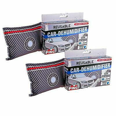 PINGI Dehumidifier Car Home Caravan Moisture Absorber Killer Reusable Pack Of 2