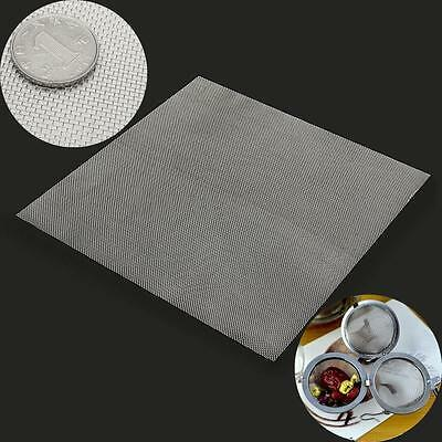 30 x 30cm 20 Mesh Woven Wire Stainless Filtration Filter Sheet 355µm Diameter
