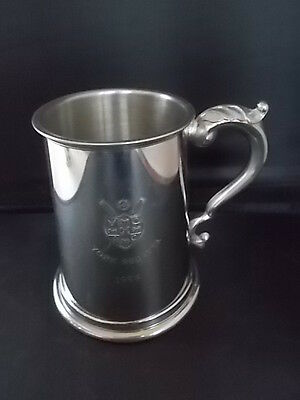 English Pewter Tankard YORK Rowing Regatta 1996 Coat of Arms A.E Ellis Sheffield