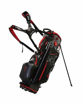 Big Max Standbag - Dri Lite G - 14er Divider - black/charcoal/red, Neu 2017!
