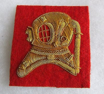 British Army Commando Royal Engineers Diving Instructor Divers Arm Badge #2