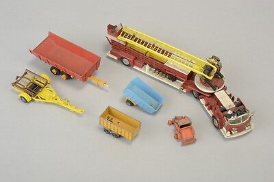 Corgi Major Aerial Rescue Truck and Other Dinky Type Toys. PIM