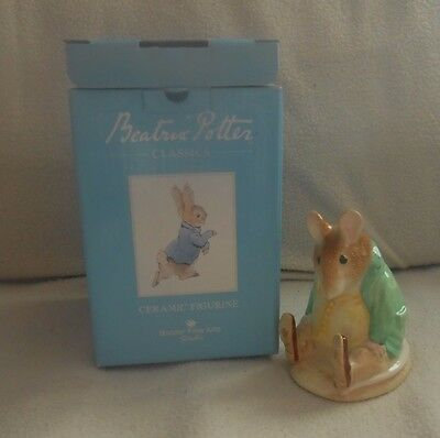 Border Fine Arts Beatrix Potter - Samuel Whiskers   - Ceramic Figure - A9759