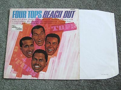 "THE FOUR TOPS - FOUR TOPS REACH OUT ""Orig 1967 1st U.K MONO Press - Great Audio"""