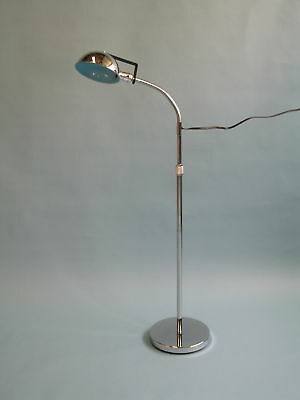 """Brandt Industries 60"""" Exam Floor Lamp with ventilated parabolic shade"""