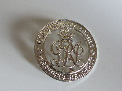 Medals - Ww1 - Silver War Badge - Full Size