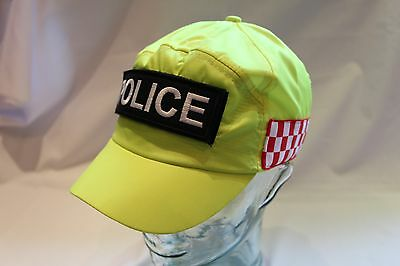 Obsolete Police Baseball Hat Red/white Band