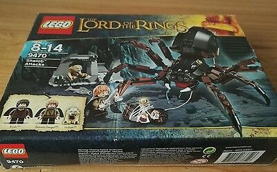 Genuine LEGO Empty box for Lord of the Rings 9470