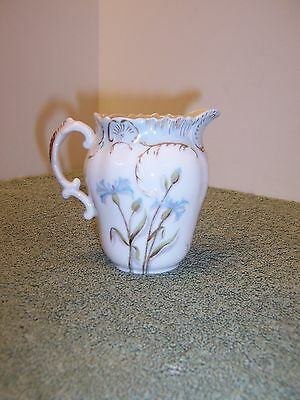 Antique Limoges Hand Painted Creamer