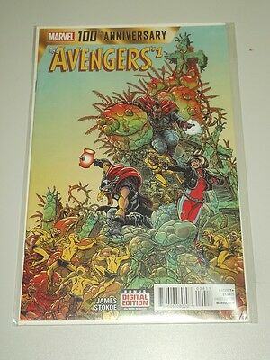 Avengers #1 100Th Anniversary Marvel Comics Nm (9.4)