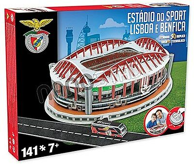 Estadio Do Sport Benfica 3D jigsaw puzzle  (kog)