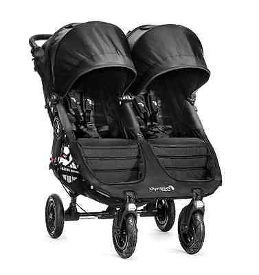 City Mini GT Double Stroller by Baby Jogger Black NEW 2016