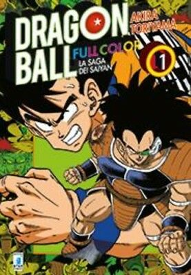 manga DRAGON BALL  FULL COLOR N.  13 - LA SAGA DEI SAIYAN 1 star comics