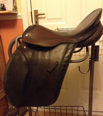 "18"" gp saddle medium fit english leather"