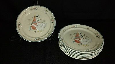 "International Tableworks Marmalade 7 5/8"" Salad Plate 8868 - Euc (7 Available)"